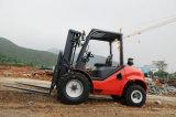 Beroemde Gloednieuwe 1.8 Kleine Ton 2.5ton 3.5ton Al Vorkheftruck van het Terrein voor Verkoop