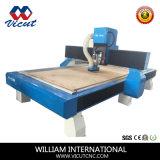 単一ヘッドCNCの木製の働く機械