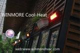 2000W calentador infrarrojo del patio con teledirigido calentador infrarrojo de la barbacoa calentador infrarrojo de la onda corta