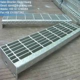 Galvanizado reja, reja de acero galvanizado para el piso de acero