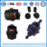 Contador del agua volumétrica con Negro Nylon Cuerpo