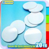 13.56MHz Mifare Classic 1K de la etiqueta de disco de PVC de RFID