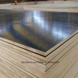 Brown impermeable/la película Shuttering del negro hizo frente a la madera contrachapada para las construcciones