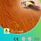 Hogar 12.3mm AC3 en relieve Elm Waxed Edge Laminate Flooring