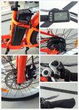 4.0インチの脂肪質のタイヤペダル電池のEバイクが付いている高速電気山のモーターバイク