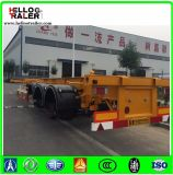De China del Manufactory los 40FT los 20FT de salida del envase del esqueleto acoplado semi para la venta