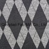 Poli Rayon Spandex tecido Jacquard (QF13-0671)