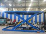 El estacionamiento de equipos de tijera hidráulico de elevación de coche