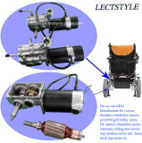 24V 250W Wirtschaft-Energien-Rollstuhl-Motor u. schwanzloser Rollstuhl-Motor mit Foldawheel