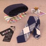Les hommes et femmes d'affaires étroites de loisirs le coton cravate BZ0001