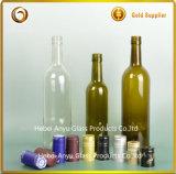 Vide écologique de l'alcool en verre bouteille de vin rouge avec un bon prix