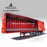 Della tela incatramata di carico di trasporto del Van Box Body del camion rimorchio laterale semi