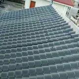 Stabilité des couleurs de la corrosion des matériaux de construction de la résistance de la résine léger Tile