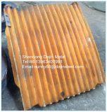 Il piatto del frantoio a mascella del manganese ha riparato il piatto della mascella dell'oscillazione del piatto della mascella da vendere
