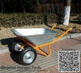 Capacidade de carga pesada de 2 rodas Wheelbarrow Industriais