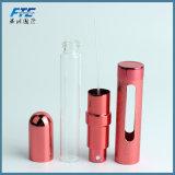 conteneur en aluminium de verre à bouteilles de parfum de cadre de jet de la pompe 12ml