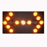 Verkehrsschild-Verkehrs-Pfeil-Vorstand des europäischen Standard-Aluminium-LED
