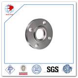 Acero inoxidable ASTM A182 F317h brida Sw 300 Lb de RF de 4 pulgadas de Sch Std ANSI B16.5 Socket brida soldada