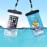 おかしいプリントPVC防水移動式携帯電話の水泳のケース(YKY7261)