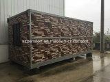 Casa móvil plegable prefabricada/prefabricada de la alta calidad inferior de la paga del envase