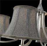 Ткань Shade Pendant Lamp для комнаты Living (D-8149/3)