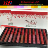 Kylie日記のため無光沢の液体の口紅セットのリップの光沢の構成キット12部分の