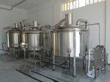 ステンレス鋼の円錐ビール醸造所装置のプラントマイクロビール発酵タンク