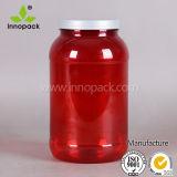 protein-Puder-Behälter-Plastikflasche des runden Haustier-3liter Plastik