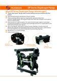 주철강 알루미늄 합금 PP 스테인리스 두 배 격막 펌프