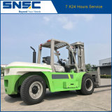 Chariot élévateur lourd diesel de Snsc 5t 7t 10t à vendre
