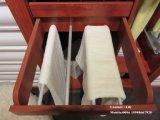 백색과 까만 쉬운 디자인 옷장 (ZH025)