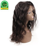 A onda do Corpo de cabelo Remy brasileira Lace Peruca Peruca Frontal