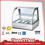 Venda a quente aquecimento vidro curvo vitrina para Papinhas (HW-350A)