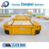 A indústria de manuseio de materiais pesados Carrinho de transferência da linha plana para venda