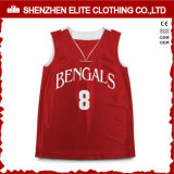 Commerce de gros vide SUBLIMATION Maillot de basket-ball cool
