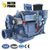 Weichai Deutz 220HP 162kwの高品質の海洋のディーゼル機関Wp6のボートエンジン
