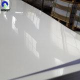 0.8mmの厚さの光沢のある白いプラスチックPVCシート