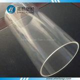 Tube rond de plexiglass transparent avec la taille faite sur commande