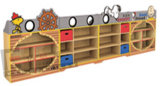 販売のための子供の家具の卸売の子供の本だなのおもちゃのキャビネット