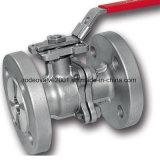 Metall-Metalldichtung flanschte industrielles Kugelventil