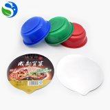 Bol en plastique remplaçable de nouille de Microwaveable pp de vente chaude de Sqs Iao 9001