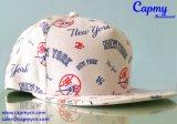 Fábrica del estilo del Snapback del sombrero del modelo de la impresión