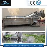 Wasmachine van het Fruit van de Borstel van de Rol van de Hoge druk van de Bel van het roestvrij staal de Bespuitende