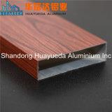 o Decking composto da grão 3D de madeira projeta o perfil de alumínio