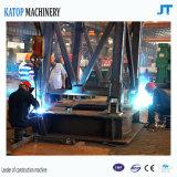 Heiße Verkäufe gebildet in China10t Ktt5020d Luffing-reisendem Turmkran für Aufbau-Maschinerie
