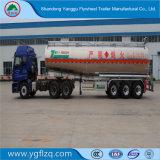 オイルのディーゼル燃料の記憶の輸送のトラック半アルミニウムタンクトレーラー