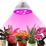 La planta del LED crece 36W ligero E27 LED crece la bombilla