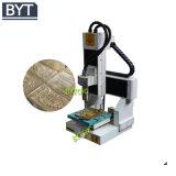 Mini ranurador del CNC usado para hacer publicidad