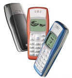 Telefone 1100 móvel recondicionado original destravado barato por atacado da pilha da forma