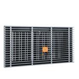 Grelha de piso de alumínio para sistema de HVAC